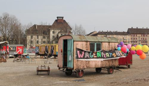 gesichtet #27: Die Stadtnomaden vom Klybeckquai