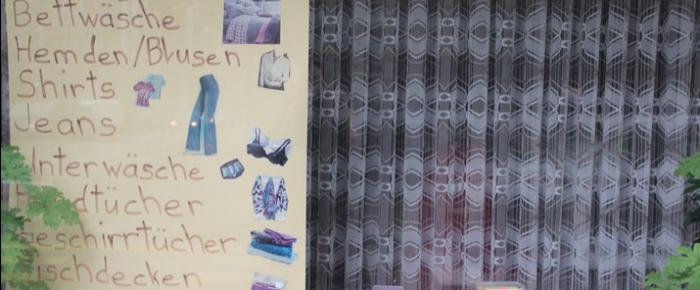 gesichtet #45: Die Wäscherei mit dem Retro-Plakat