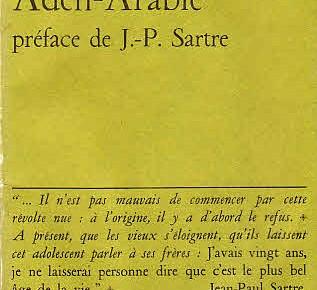 «Aden» von Paul Nizan in der Wertlosen Bibliothek – 3. Teil aus Elias Fausers «Wertloser Bibliothek»