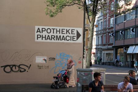 Ecke Apotheke