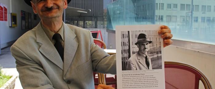 Ein neuer «Zeitnah»-Leser: Dimitrios vom Bahnhof SBB