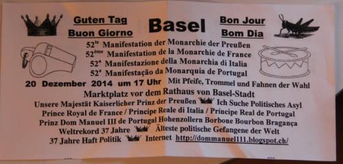 Flyer Dom Manuel III