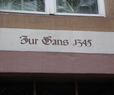 Haus zur Gans 1345