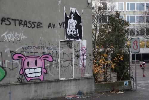 Streetart an der Wasserstrasse