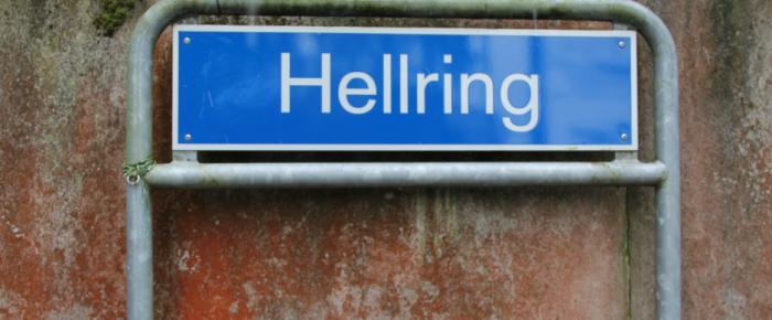 gesichtet #101: Die Metal-Band unter den Strassen: Der Hellring beim Hexenwald