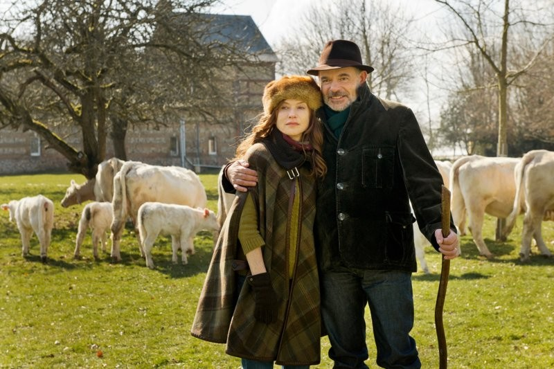 Brigitte und Xavier geniessen das Landleben. (Bild: zVg)