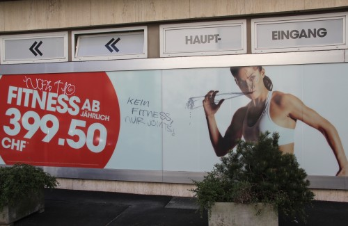 Kein Fitness, nur Joints 2