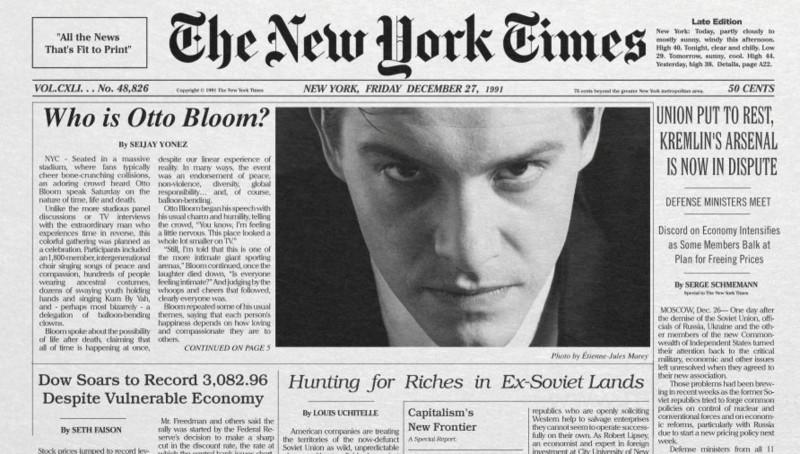 Wer ist Otto Bloom?  Cris Jones' Mockumentary klärt auf. (Bild: zVg)