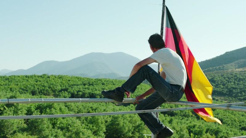 In der Fremde auch gerne mal Flagge zeigen... (Bild: zVg)